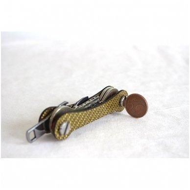 Anglies pluošto raktų pakabukas keycabins 3