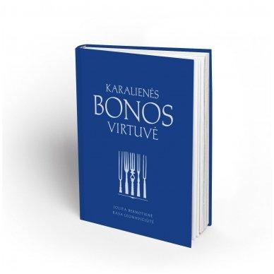 """Knyga """"Karalienės Bonos virtuvė"""" 3"""