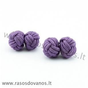 Medžiaginės  sąsagos violetinės