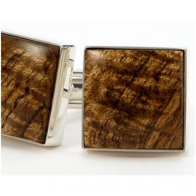 """Sąsagos medinės """"Hawaiian Koa """" su dovanų dėžute 2"""