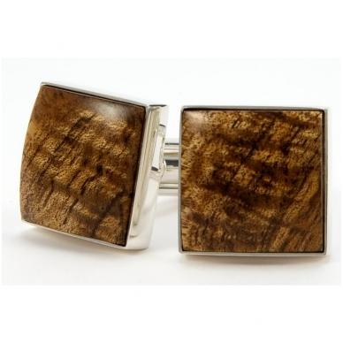 """Sąsagos medinės """"Hawaiian Koa """" su dovanų dėžute"""