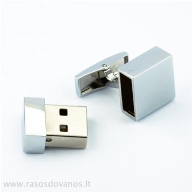 """Sąsagos """"USB"""" 8GB 4"""