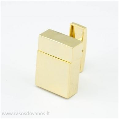 """Sąsagos """"USB"""" 8GB auksinės 2"""